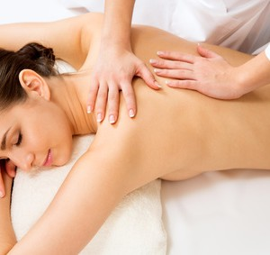 Wellness and relaxing massage: